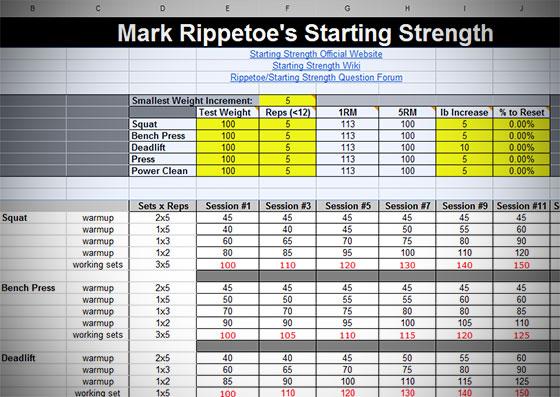 Starting-Strength-Routine-Calculator-Generator