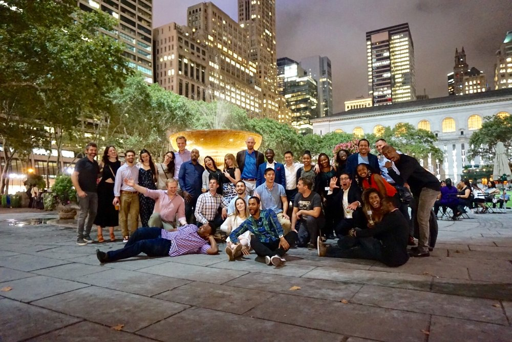 Sundown Social at Bryant Park NYC 2017
