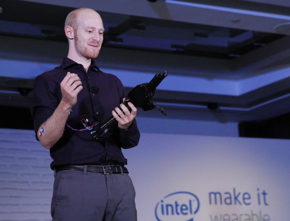 Joel Gibbard Open Bionics robotic hand