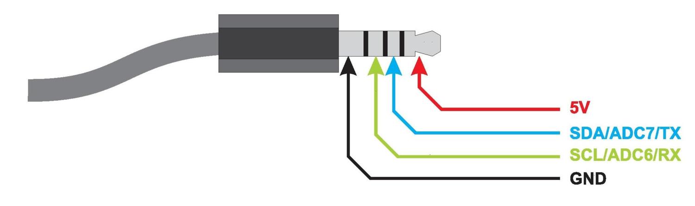 HANDle (Nunchuck control) — Open Bionics | Wii Nunchuk Wire Diagram |  | Open Bionics Labs