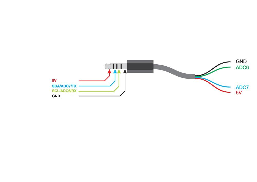Pole headphone jack wiring diagram
