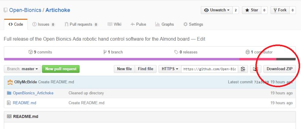 Download Artichoke from GitHub