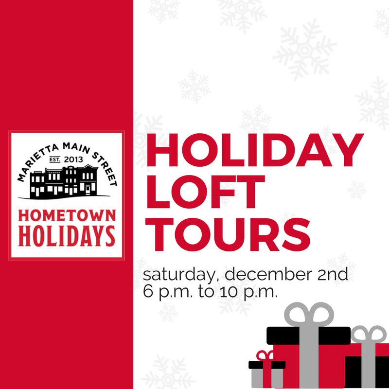 Hometown Holidays, Loft Tours, Square Graphic (1).png