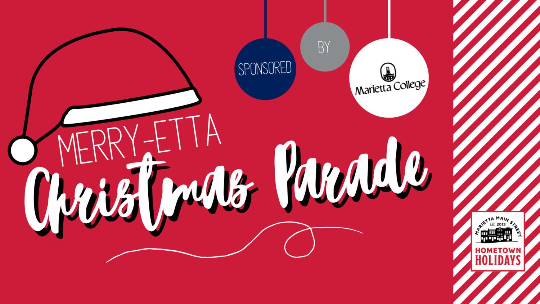 Marietta Christmas Parade 2020 Merry etta Christmas Parade — Marietta Main Street