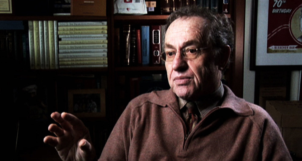 Nic Rossier's interview with Alan Dershowitz