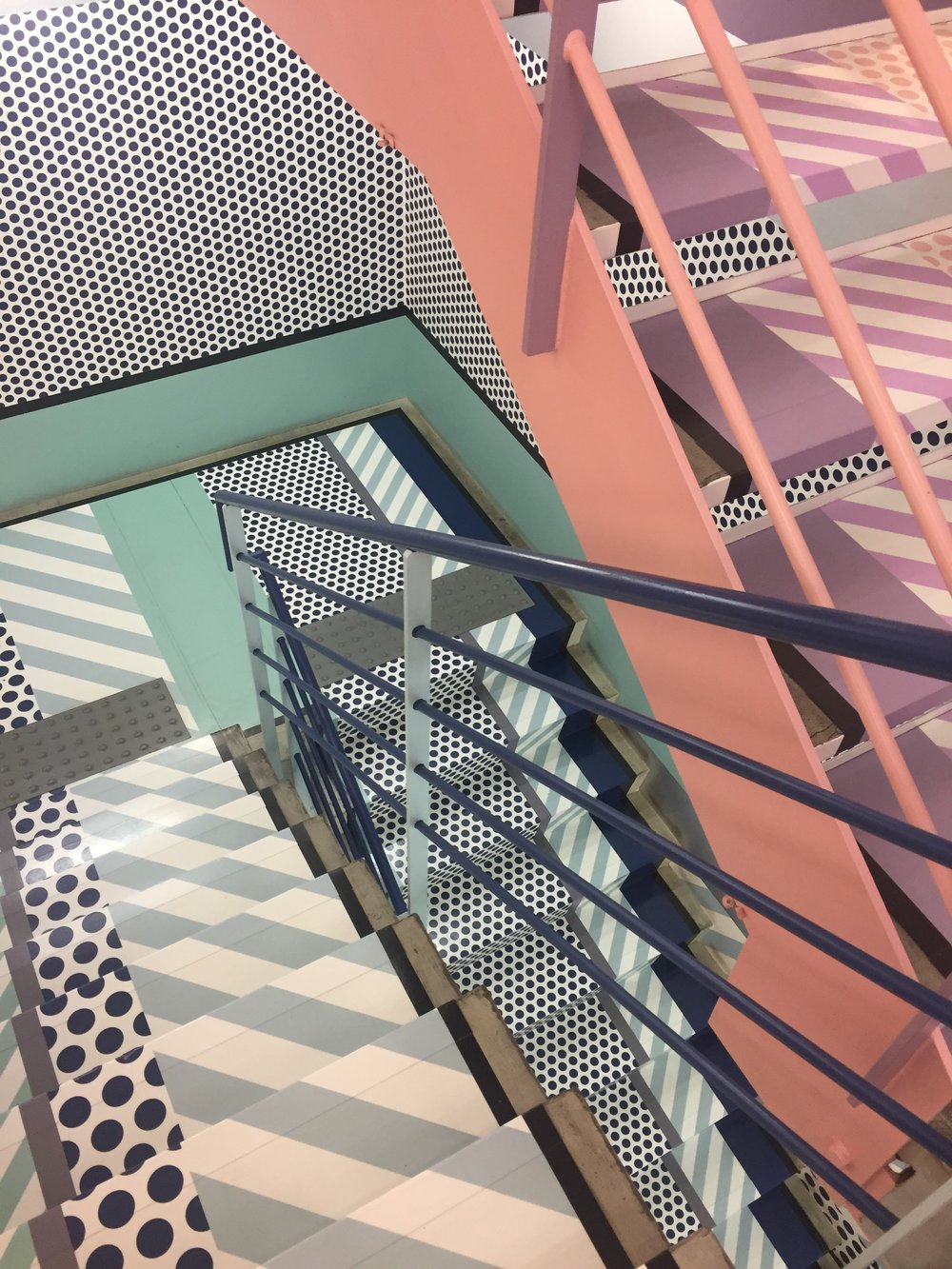 BEAUTIFUL staircase, Opening Ceremony, Harajuku