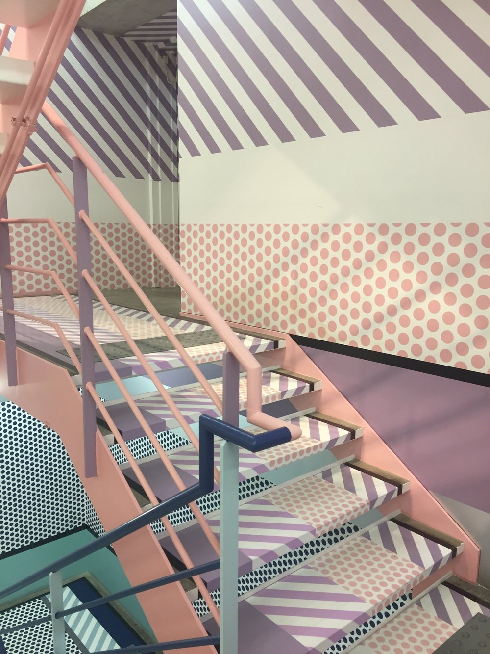 BEAUTIFUL staircase (view 2!), Opening Ceremony, Harajuku