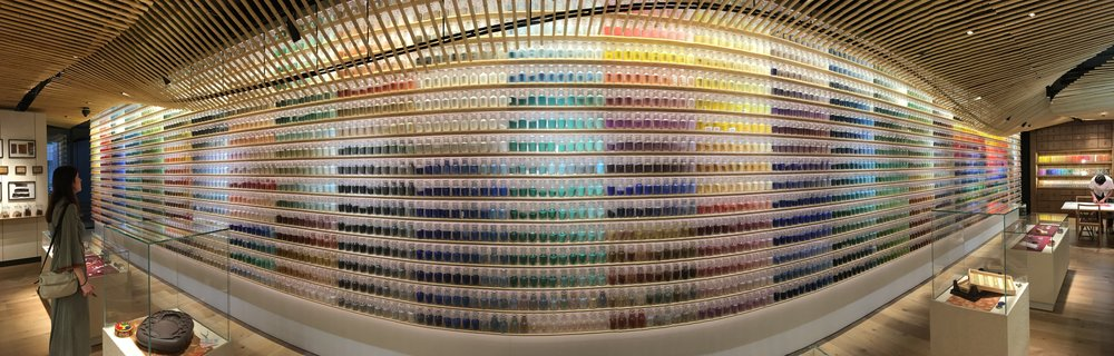The beautiful Pigment Art Shop, Tokyo