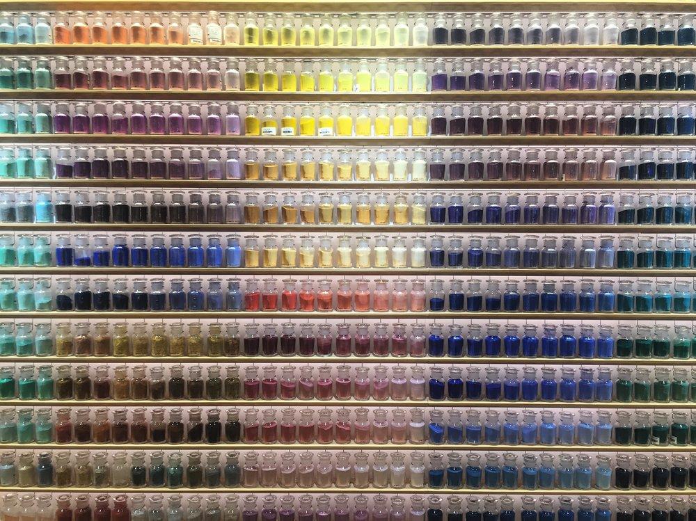 Pigments, at Pigment