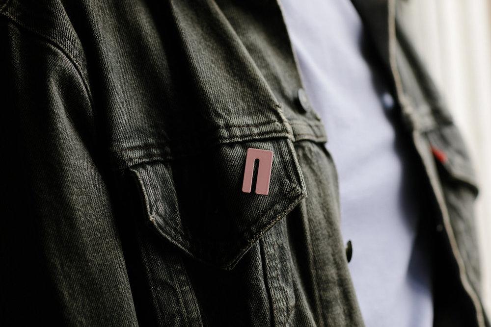 Slot Lapel Pin
