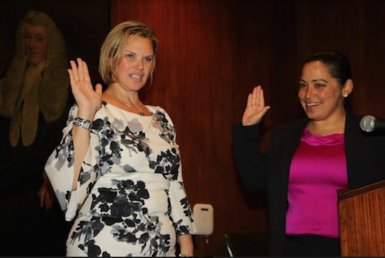 Carrie Anne Cavallo sworn in as Brooklyn Women's Bar Association president -