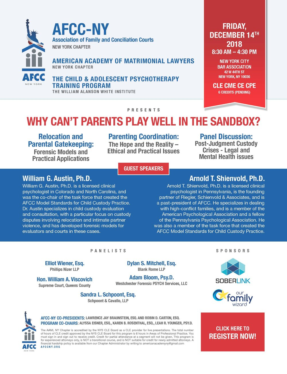 WHY CAN'T PARENTS PLAY WELL IN THE SANDBOX? -