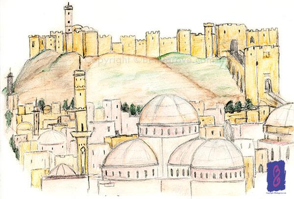 Aleppo - Initial sketch
