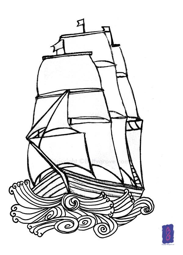 Ship - Sketch