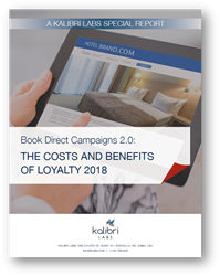 Updated Study on Hotel Book Direct Campaigns Reveals Continued Growth of Brand.com