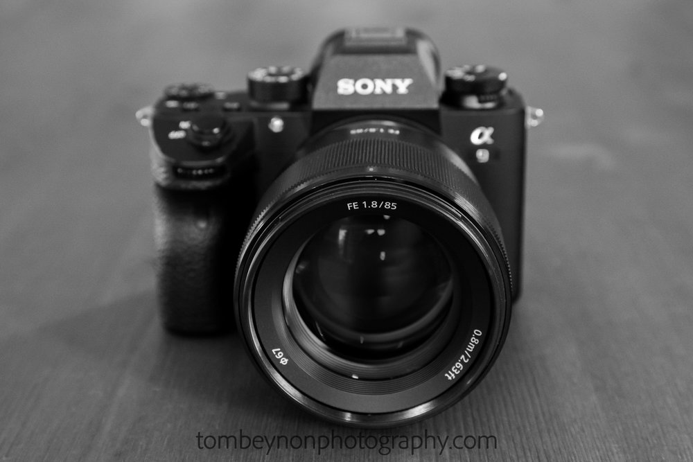 Sony a9 with 85mm lens