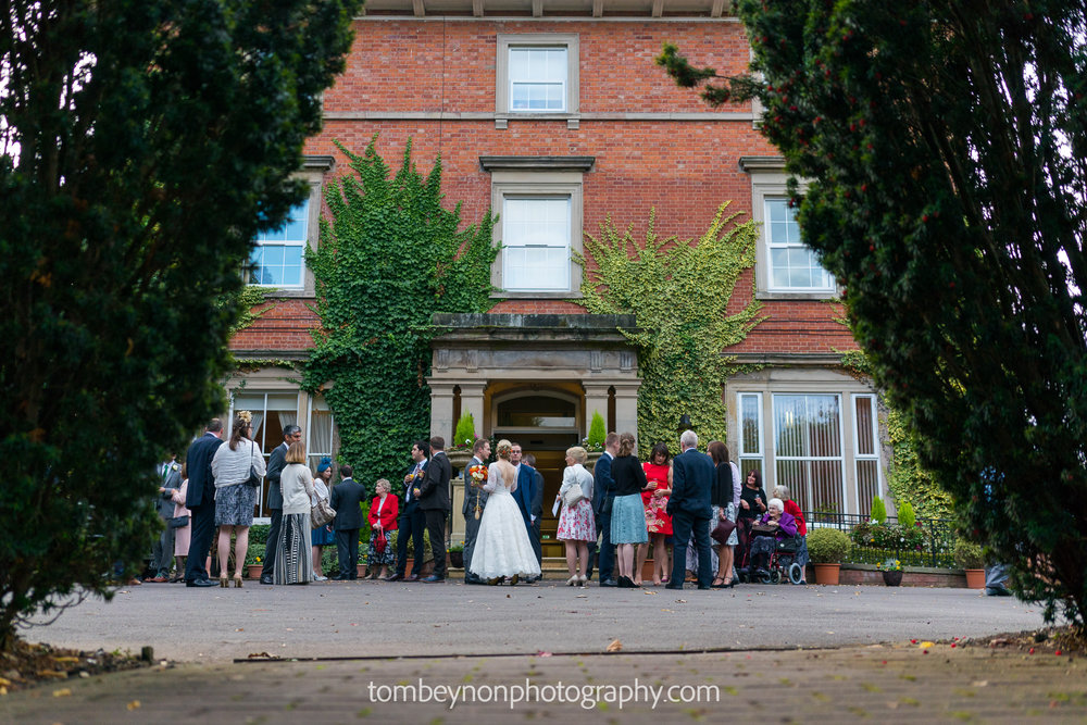 Wedding at Rodbaston Hall