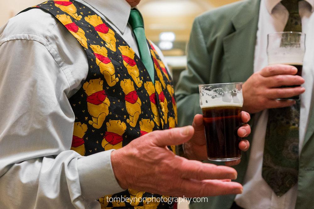 Colourful waistcoat