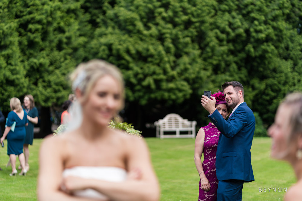 Guests take a selfie
