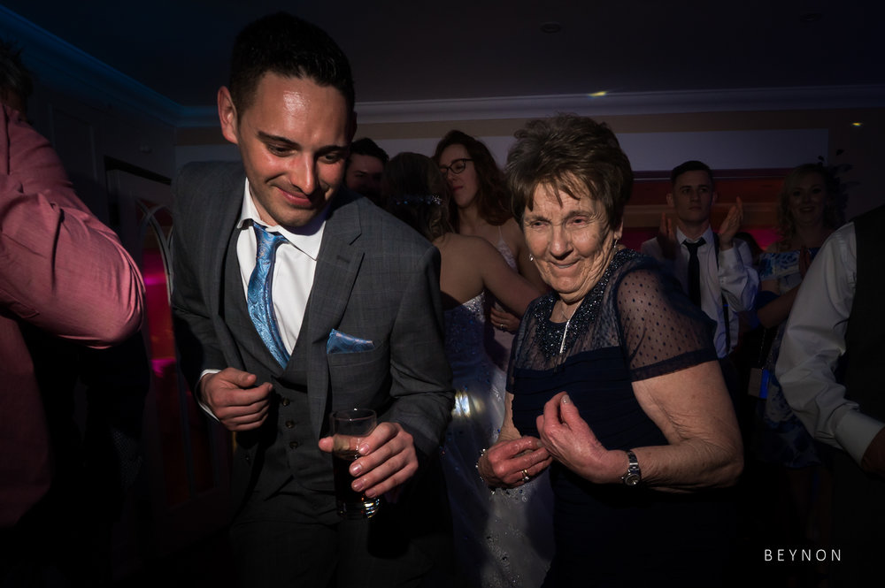 Grandma is on the dancefloor