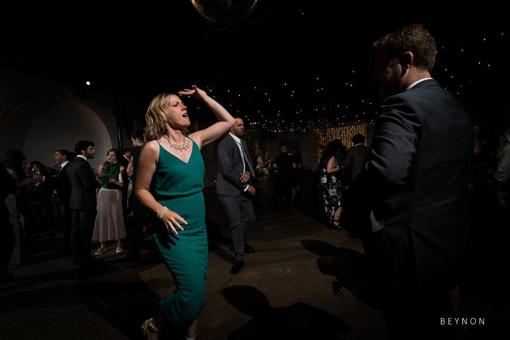 Guest dances