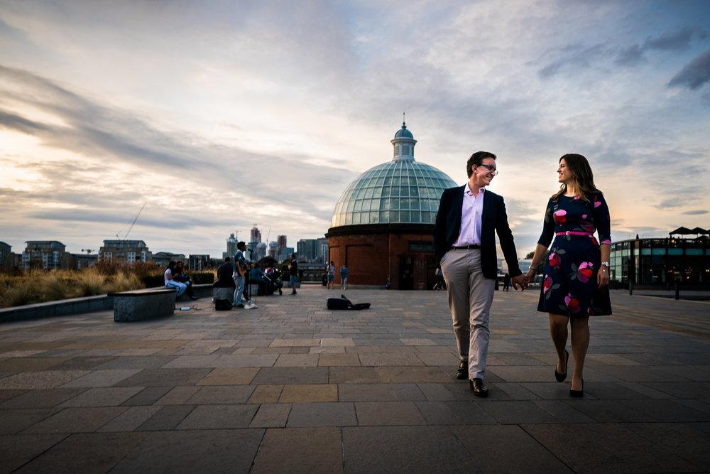 Pre-wedding shoot in Greenwich.