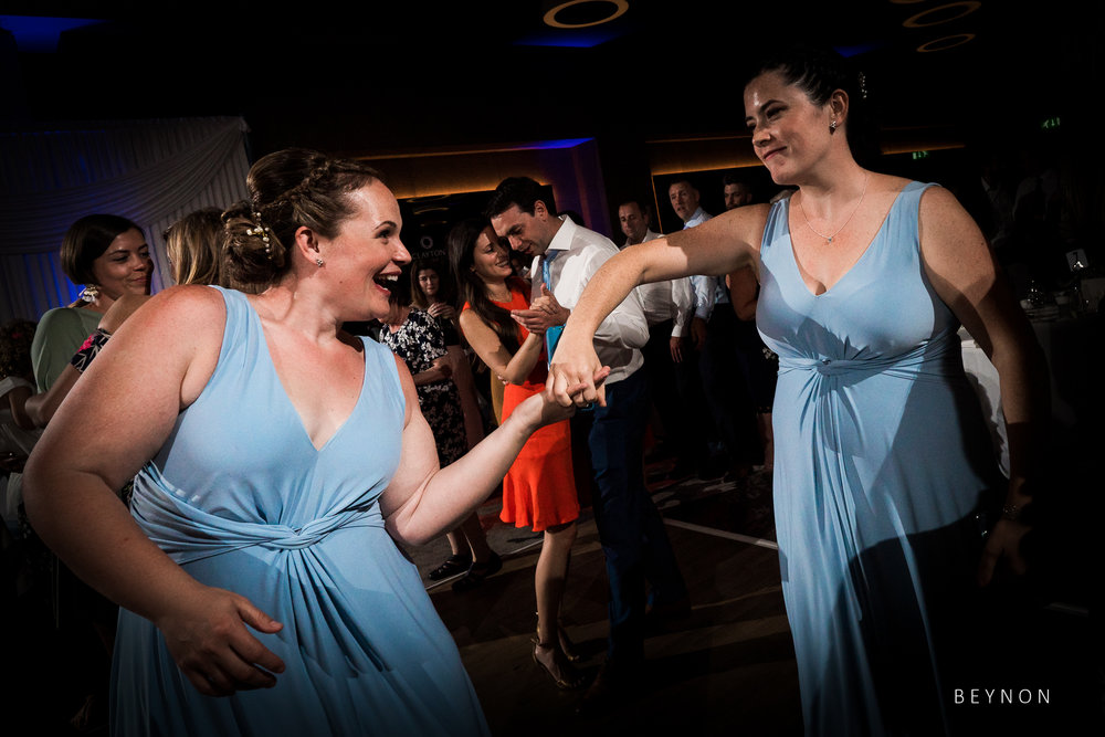 Bridesmaids dance