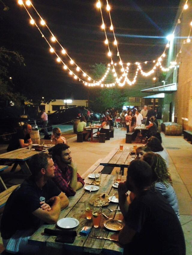 Opening night at Small Brew Pub.jpg
