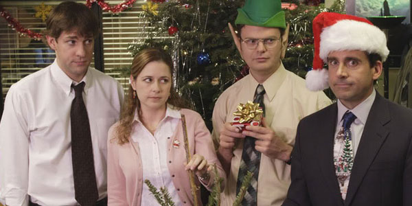 Costumes? Nope. Rock your best tailored suit for the office party. The man in a Santa hat or an ugly Christmas sweater, will not win the night.