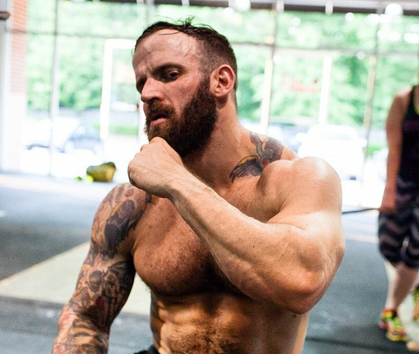 John Dill knows a thing or two about motivation, weightlifting...and at least one thing about terrific beards.