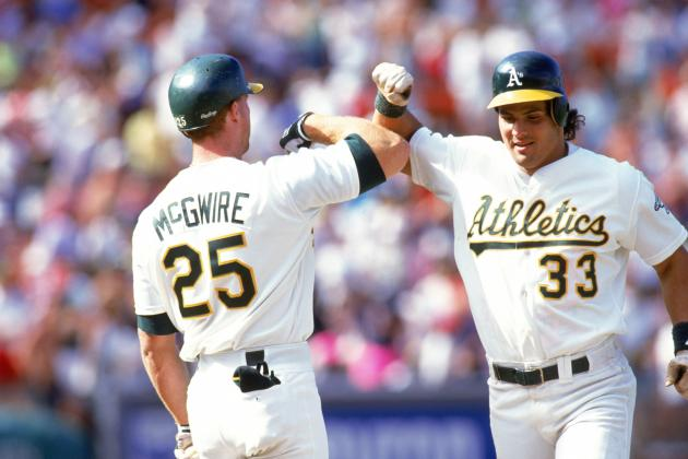 The Bash Brothers. Every little leaguer in America wanted to be like Big Mac and Jose Canseco in the late 80's and early 90's.