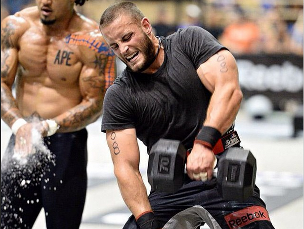 2014 Crossfit Games Athlete Richard Bohlken, suspended from the 2015 season after testing positive for a banned substance.