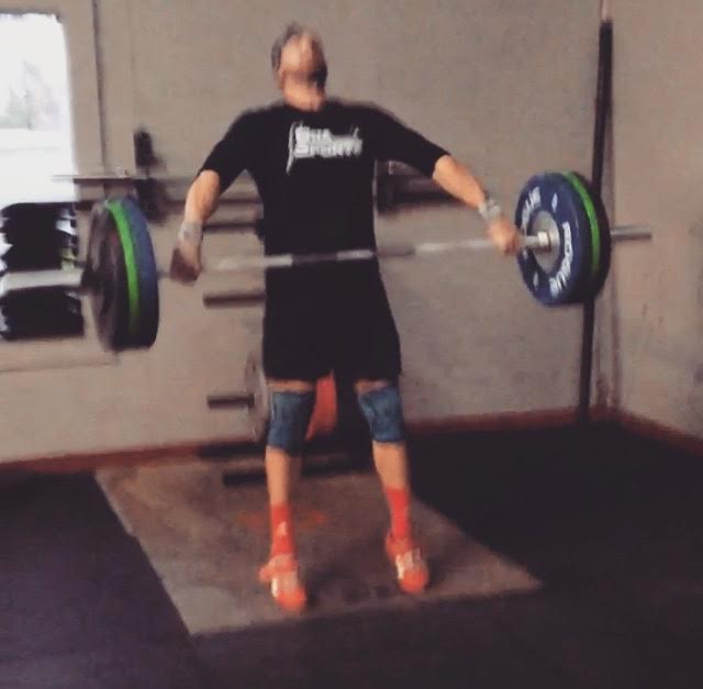 Didn't PR my snatch, but I did hit 275# for the first time on my clean and jerk. CrossFit Brunswick - Brunswick, GA.