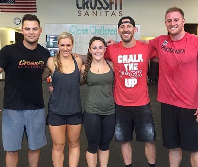 Meeting up with some of the Bear Club. CrossFit Sanitas - Boulder, CO.
