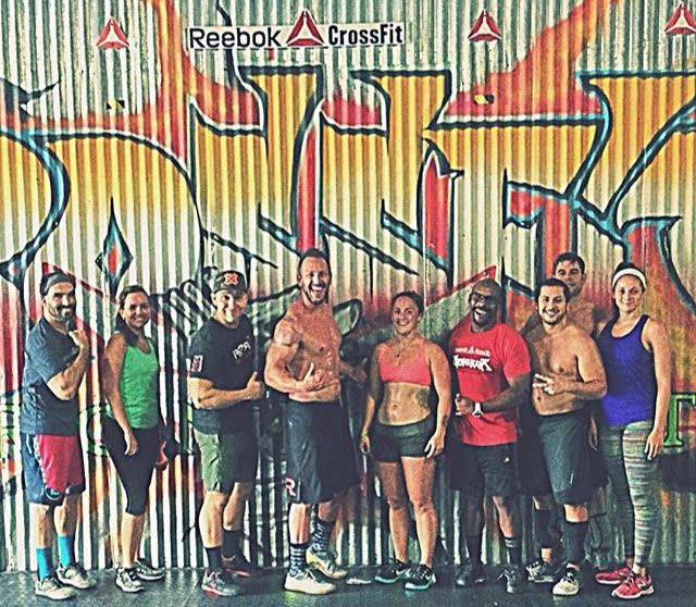 One of our favorite drop-ins. Reebok CrossFit Ironheart - San Juan, Puerto Rico