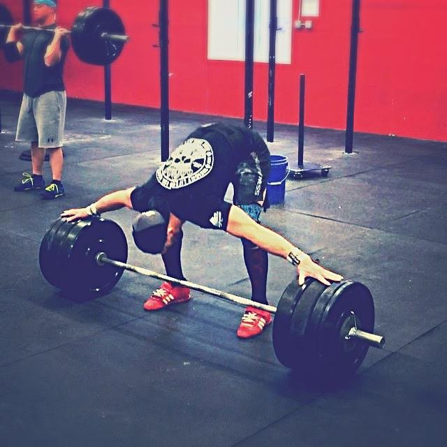My weekends always start the same way - with a morning date with the barbell. Go and do likewise.