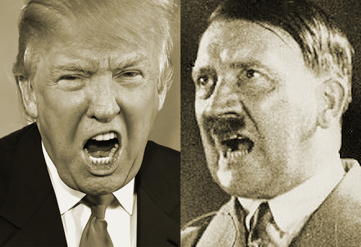 Until a President or candidate starts rounding up groups for long train rides to the camps, let's leave the tired Hitler comparisons behind. Seriously, just stop it.