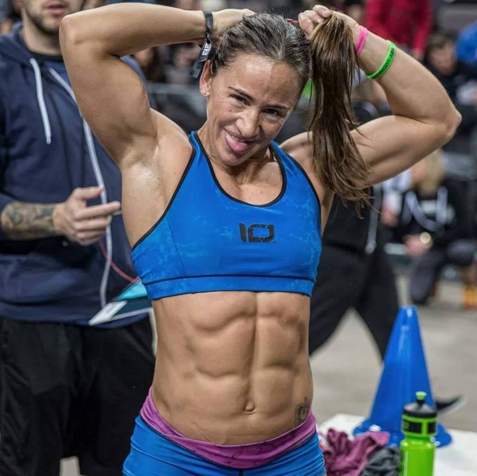 "A six-pack doesn't make you dangerous. Elia Navarro Garcia, another female athlete who is ""more of a woman"" - tested positive for a banned male hormone."
