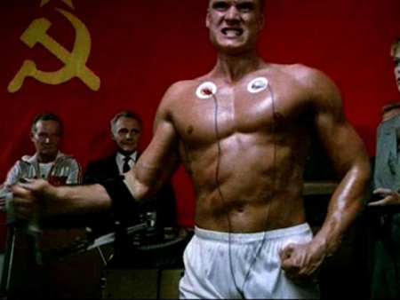 "Training with science didn't get Drago a ""W"" but come on, he did kill Creed in the ring, that has to count for something."