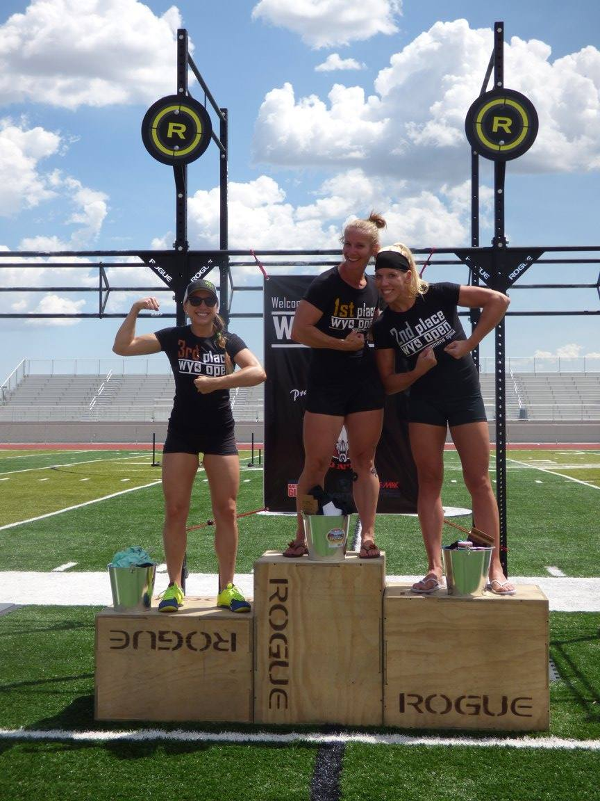 Last year's cross-town Cheyenne battle for first place went to CrossFit Cheyenne's Christi King, defeating CrossFit Frontier's Lauren Jordan. All three of last year's podium finishers are absent from the Women's Open field this year.