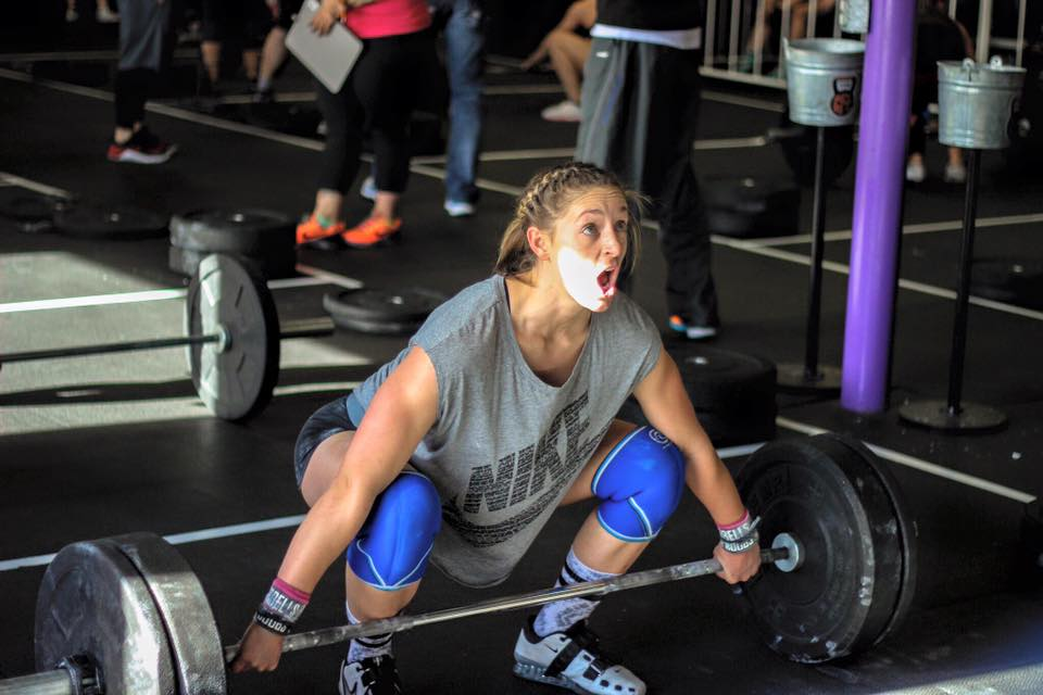 Shala Giardini could work her way into a spot on the podium if she can perform well on event 2's one-rep maxes.
