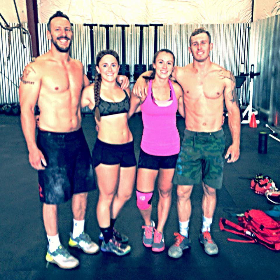 "CrossFit Team Series 2015. ""The Black Sheep"" - CrossFit Cheyenne."