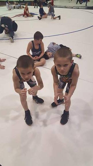 Walker's 7 year old twins used their strength and conditioning background to quickly accelerate their growth as wrestlers.