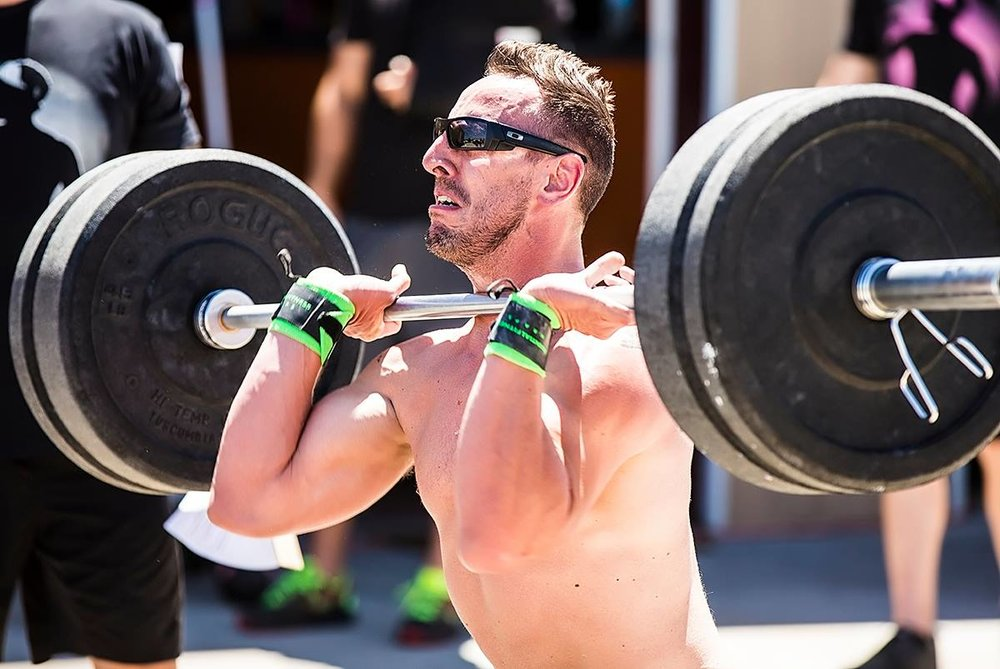 Waggener during one of 17 competitions he participated in last year. CrossFit Decimate - Colorado Springs, CO