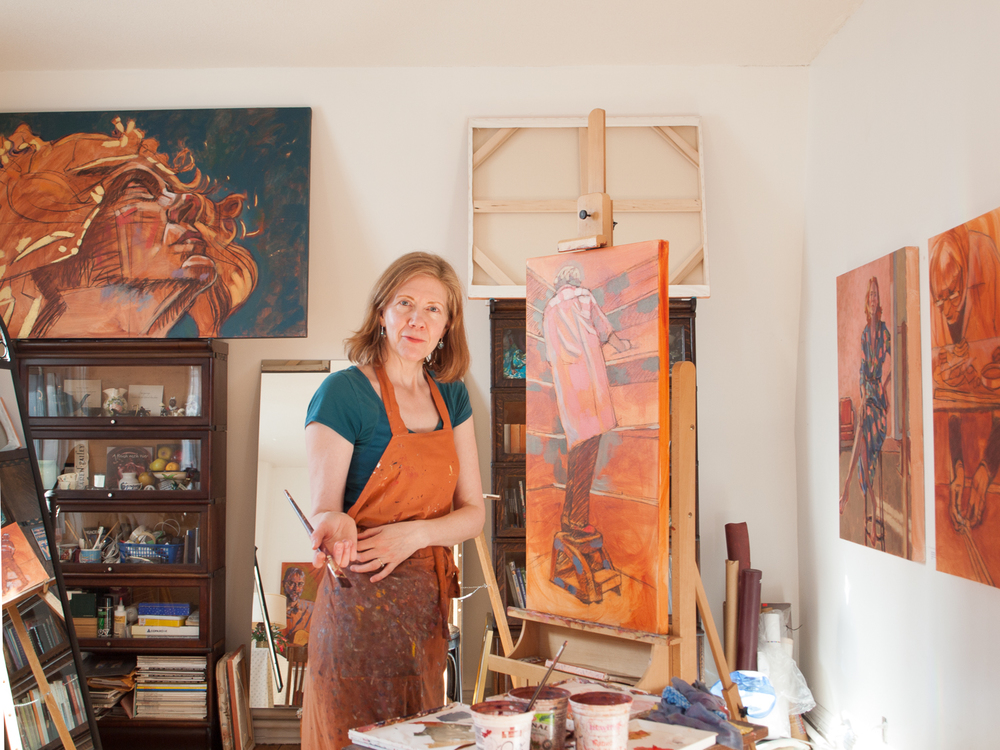 Artist Karen Bailey // Rectory Art House