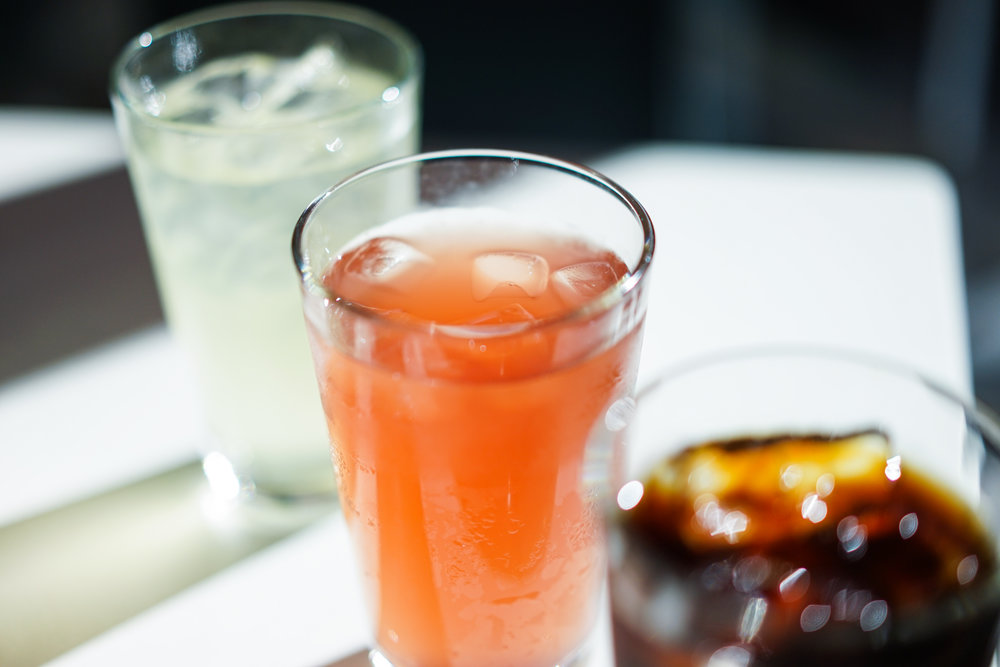 Iced Yuzu Tea – Iced Pomegranate Tea – Cold Brew