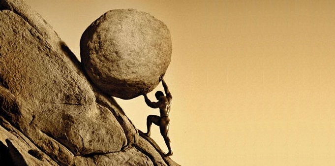 Sisyphus Hard Work Change