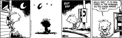 Any excuse to add Calvin and Hobbes into a post as a parody of a famous commercial in the '80s.