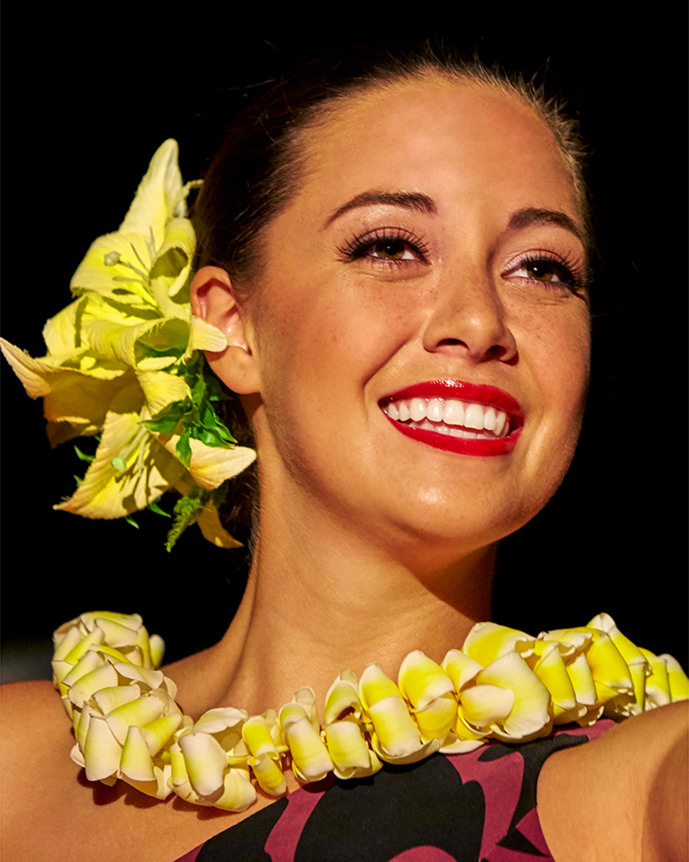 MISS HAWAII HULA PERFORMANCE AT HOUSE WITHOUT A KEY