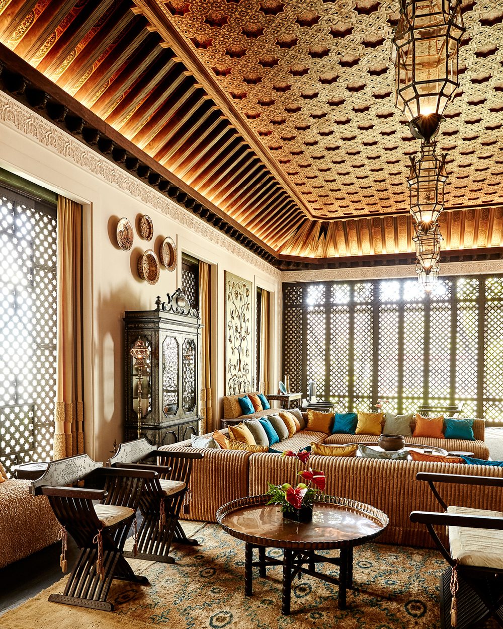 LIVING ROOM AT SHANGRI LA